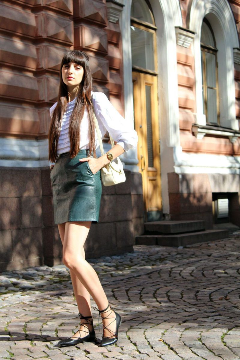 2018 Best Summer Mini Skirts And Shoes Combos For Women (22)