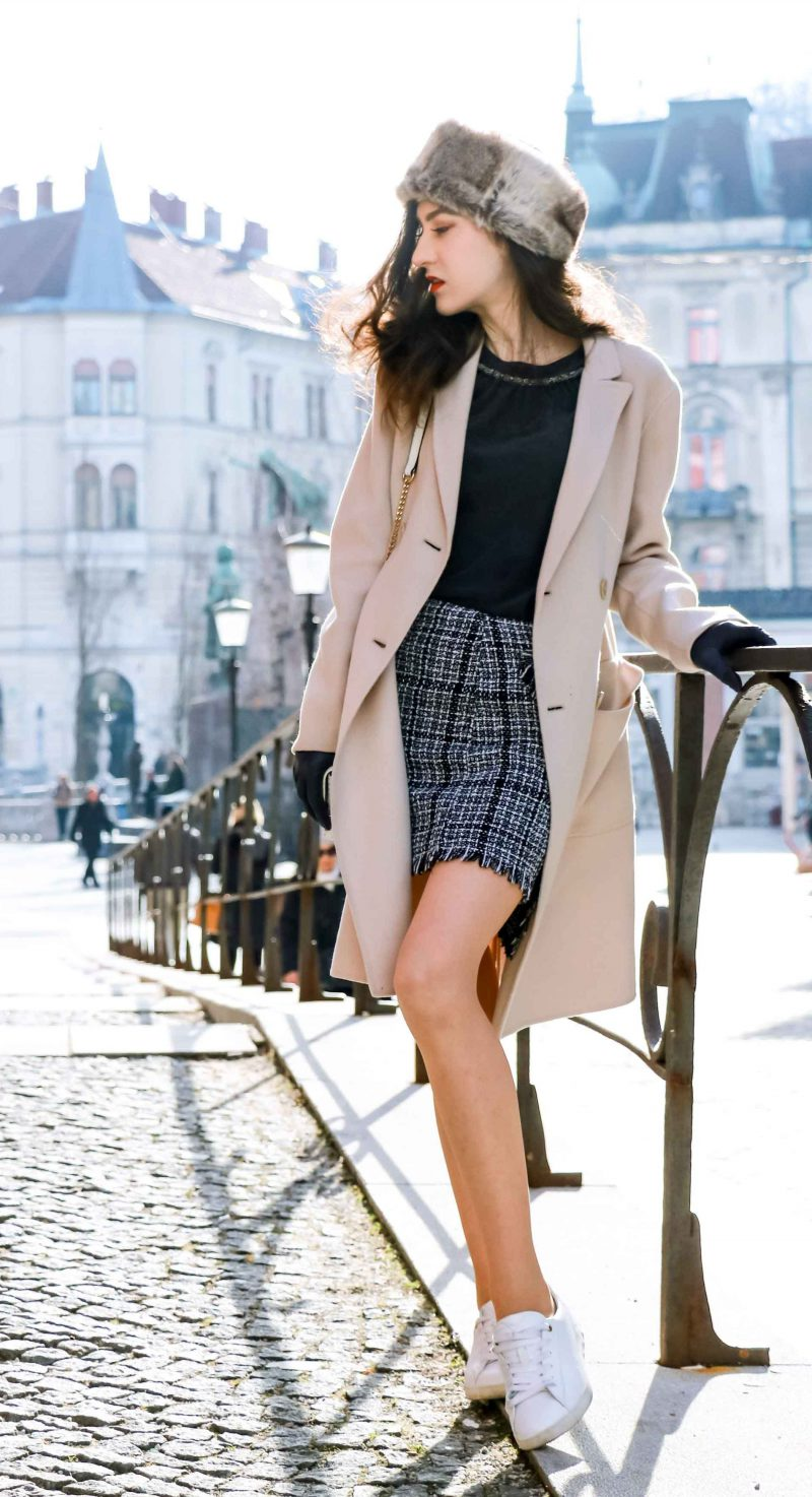 2018 Best Summer Mini Skirts And Shoes Combos For Women (23)