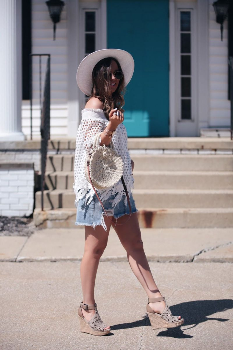 2018 Best Summer Mini Skirts And Shoes Combos For Women (25)