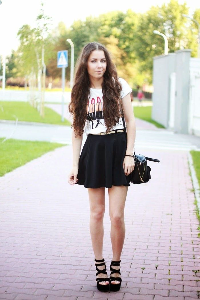 2018 Best Summer Mini Skirts And Shoes Combos For Women (34)
