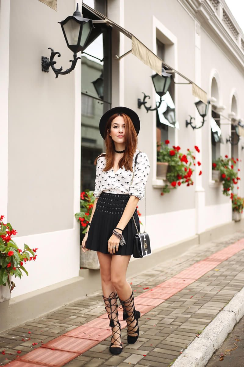 2018 Best Summer Mini Skirts And Shoes Combos For Women (36)