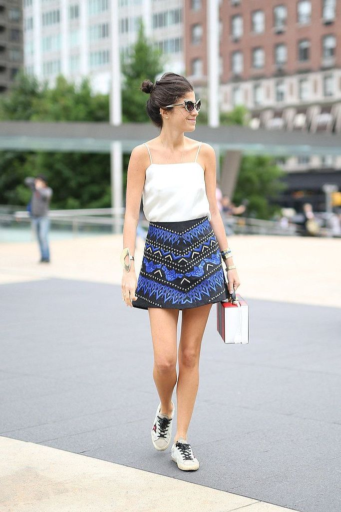 2018 Best Summer Mini Skirts And Shoes Combos For Women (38)