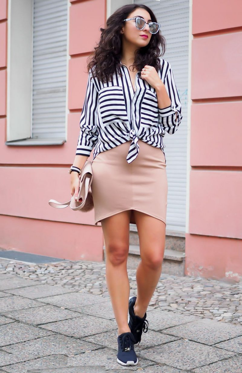 2018 Best Summer Mini Skirts And Shoes Combos For Women (7)
