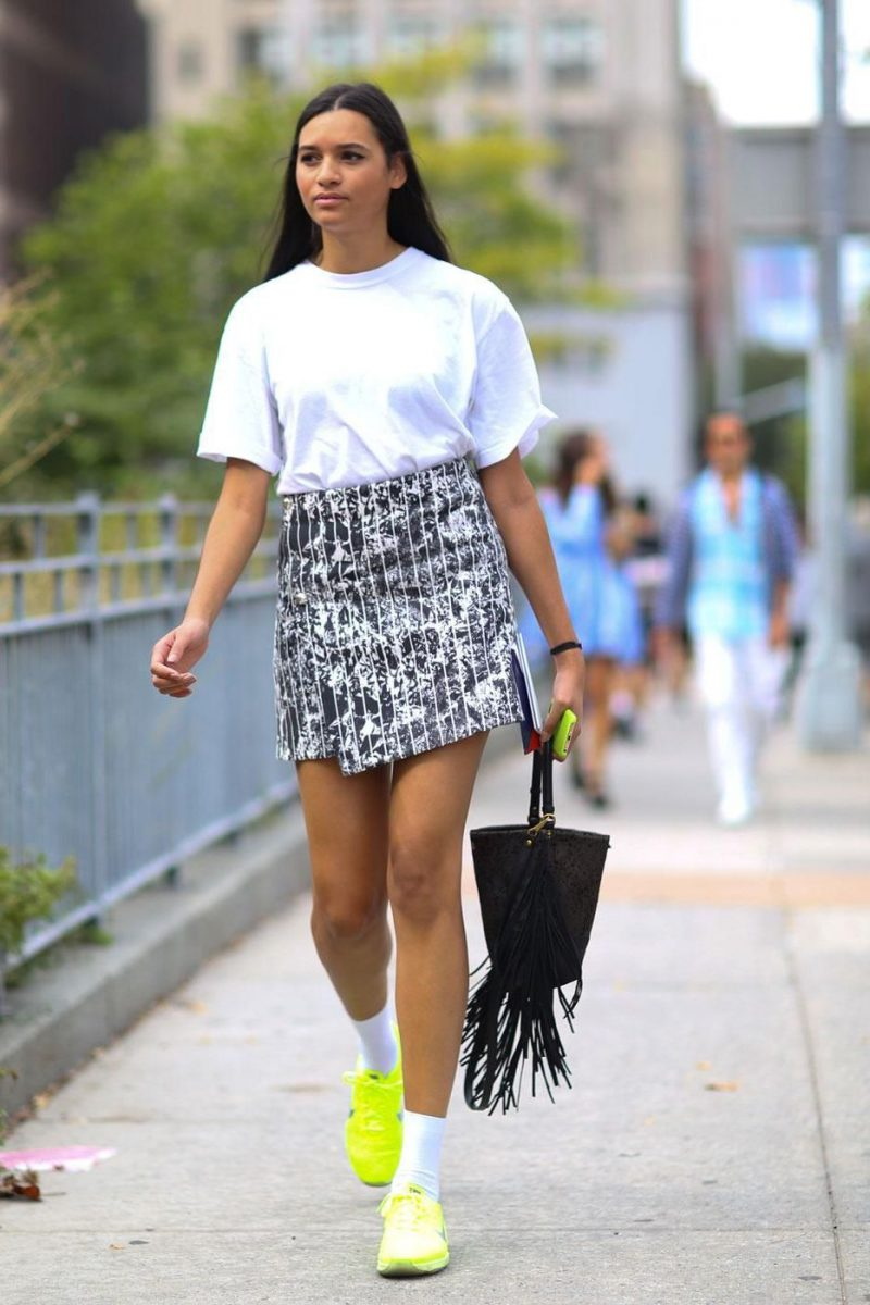 2018 Best Summer Mini Skirts And Shoes Combos For Women (9)