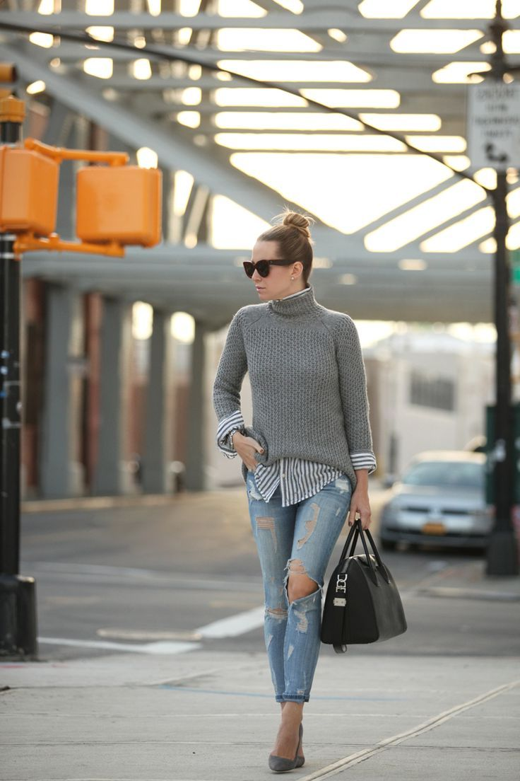 20 Turtleneck Outfit Ideas For Women 2019