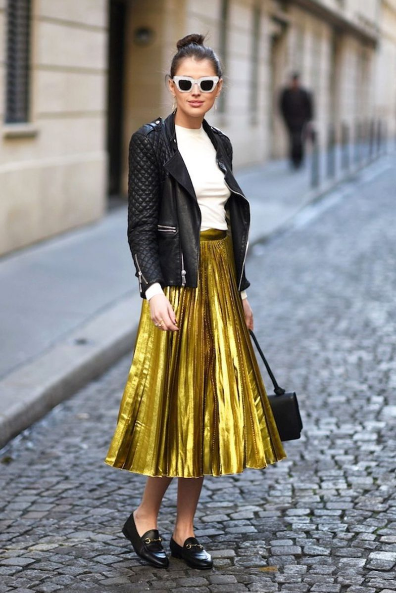 2018 Best Ways To Wear Gold For Women (30)