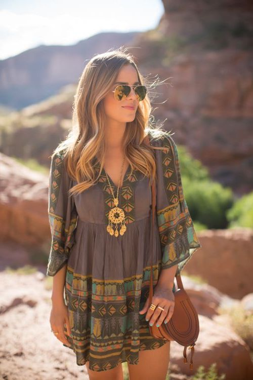 2018 Bohemian Fashion Must Haves For Women Street Style Inspiration (77)