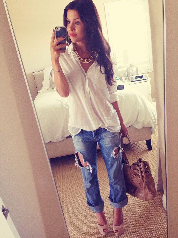 Feminine Ways To Wear Boyfriend Jeans 2020