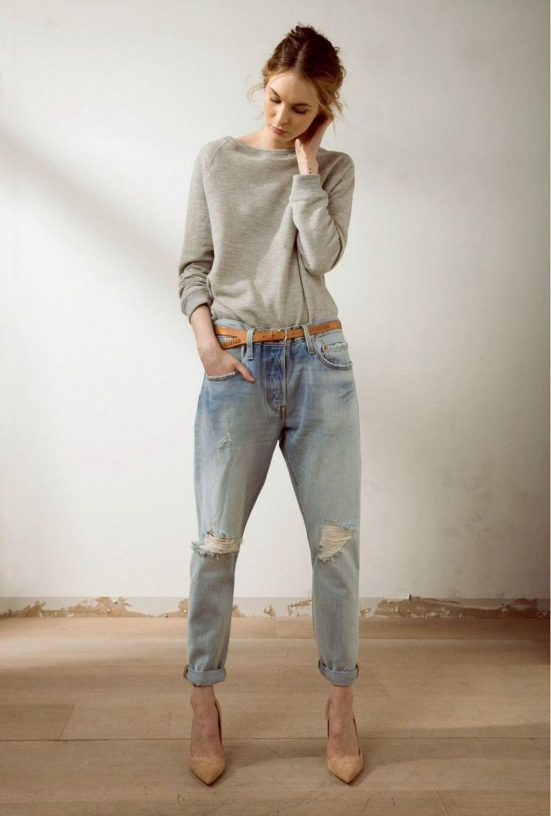 Feminine Ways To Wear Boyfriend Jeans 2019