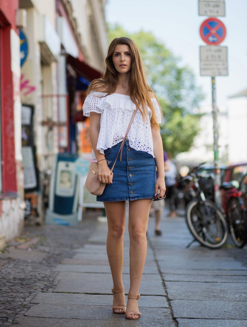 57 Casual Chic Denim Styles For Women 2019