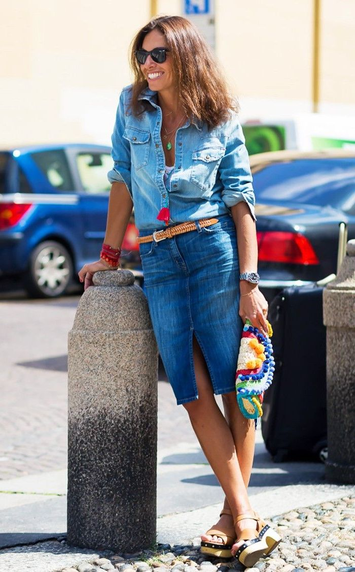 How to Wear Chambray Shirt For Women 2019