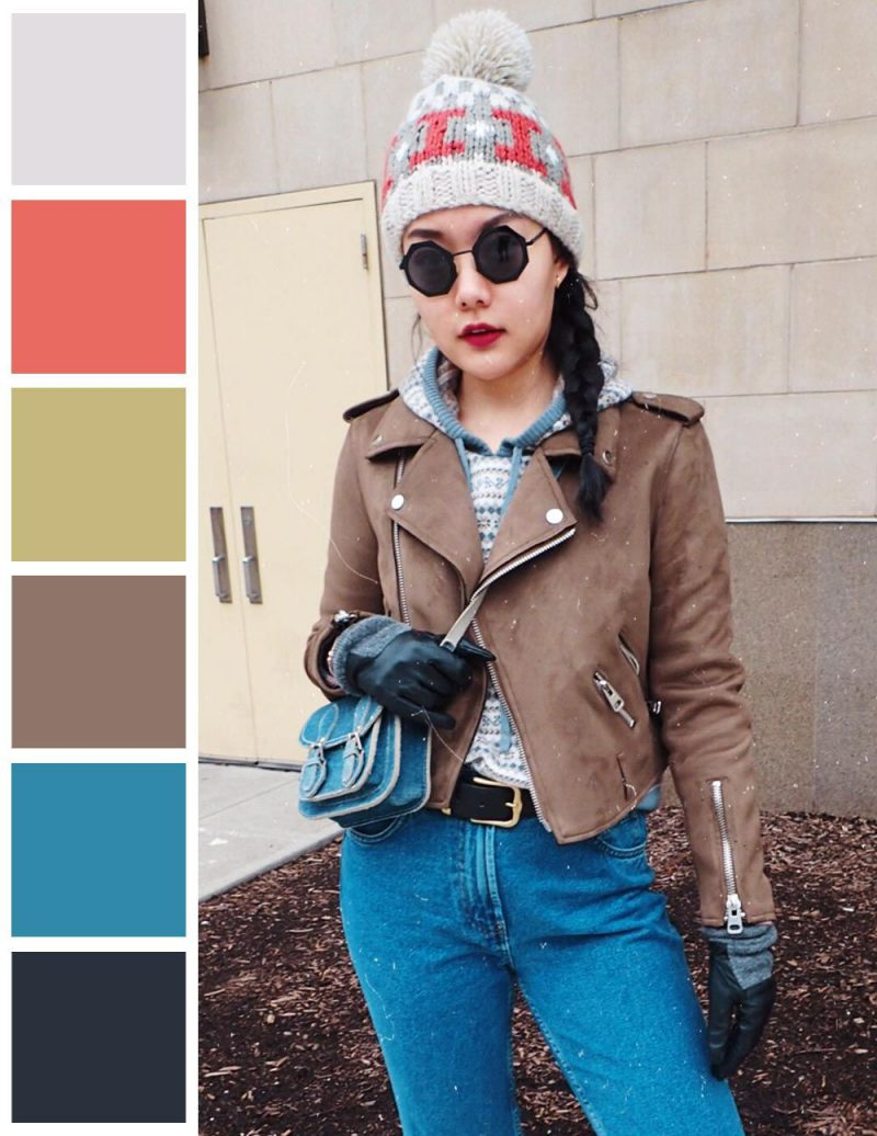 2018 Colored Leather Clothes And Accessories For Women Street Style Looks (16)