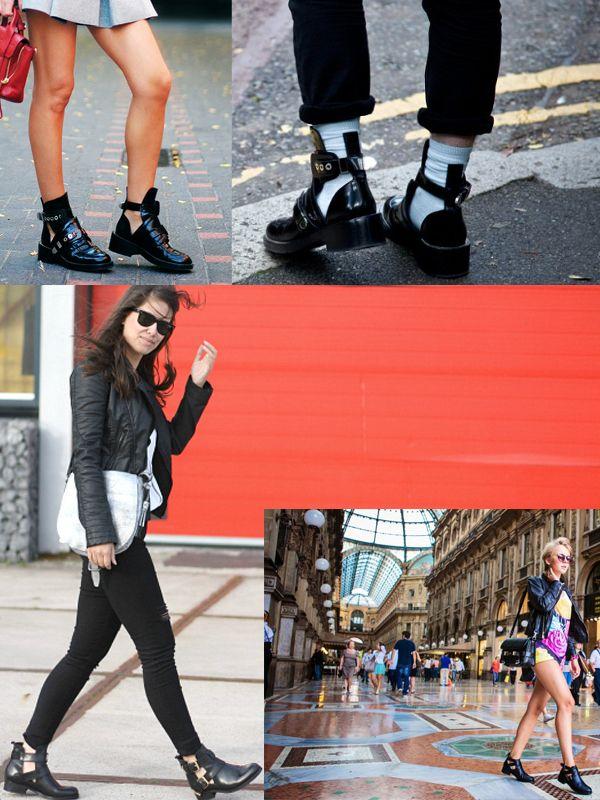 Modern Cut Out Boots For Women 2020