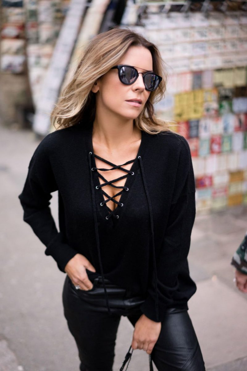 27 Lace Up Tops For Women 2020