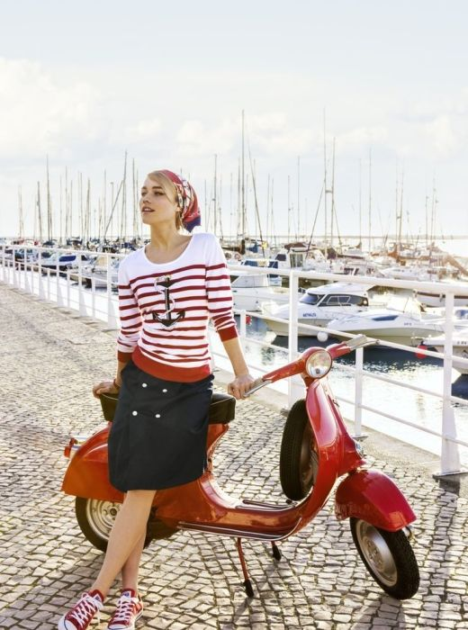 2018 Nautical Fashion Trend For Women Best Street Style Ideas (12)
