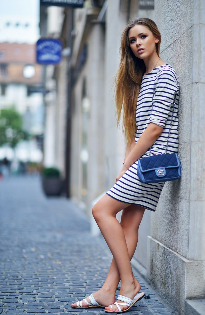 2018 Nautical Fashion Trend For Women Best Street Style Ideas (14)