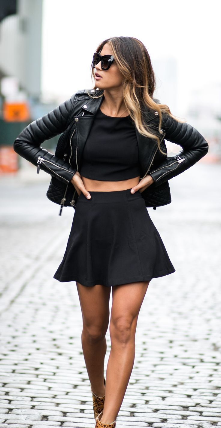 2018 Summer All Black Clothes For Women Street Style Ideas (4)