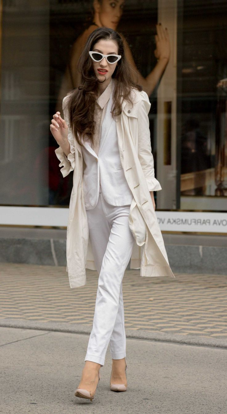 43 All White Summer Outfits For Women 2020