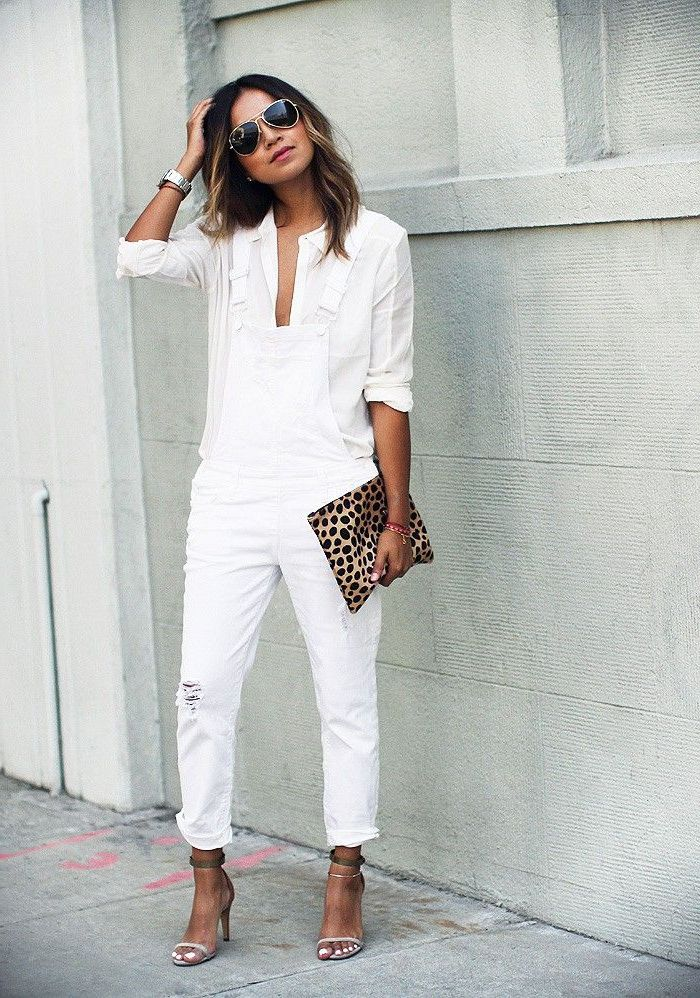 2018 Summer All White Outfits For Women Inspiring Styles To Copy (35)