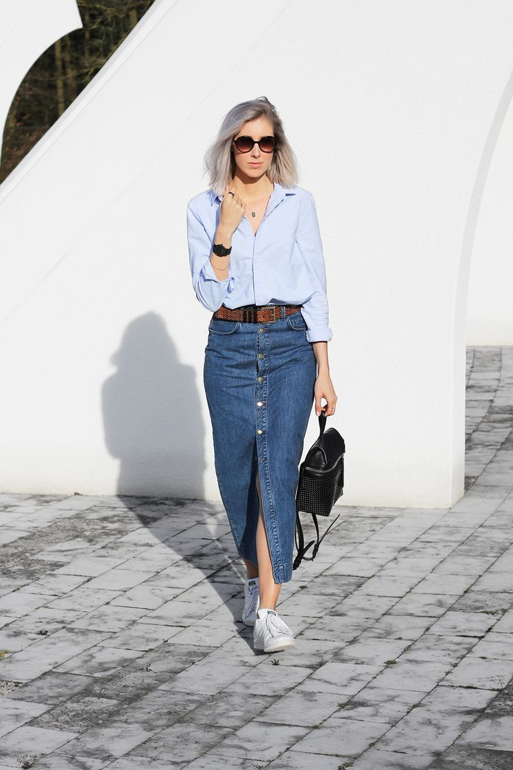2018 Summer Denim Outfit Ideas For Women Inspiring Looks To Copy (46)