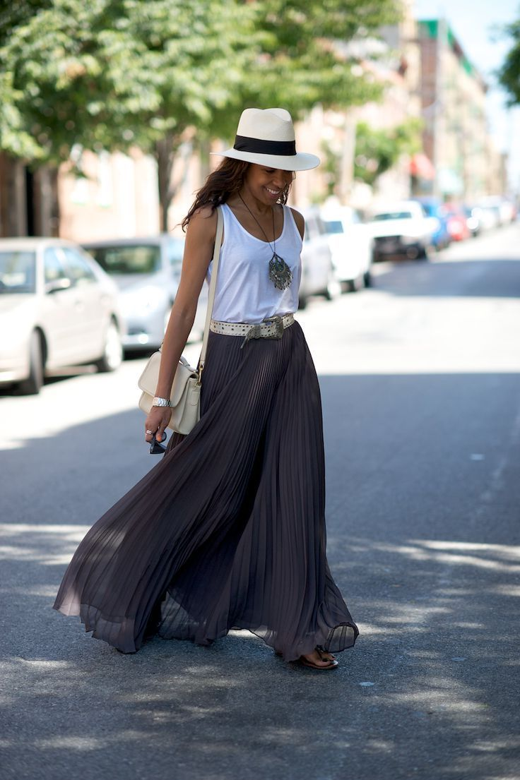 31 Ways To Wear Maxi Skirt This Summer 2019