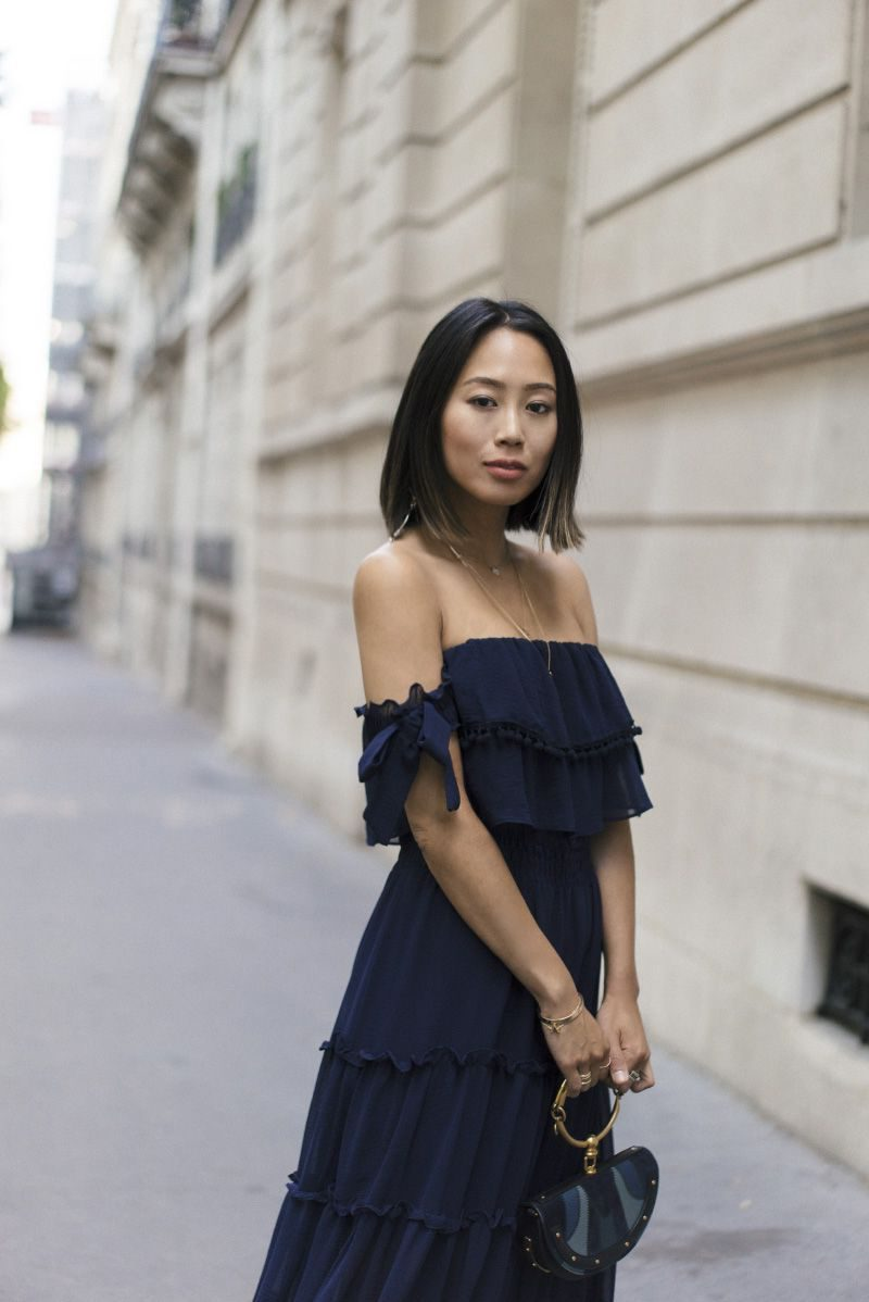 2018 Summer Off Shoulder Trend For Women Inspiring Street Style (23)