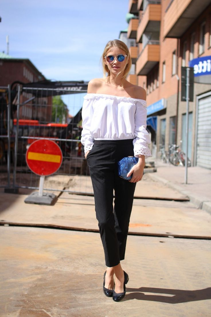 2018 Summer Off Shoulder Trend For Women Inspiring Street Style (4)