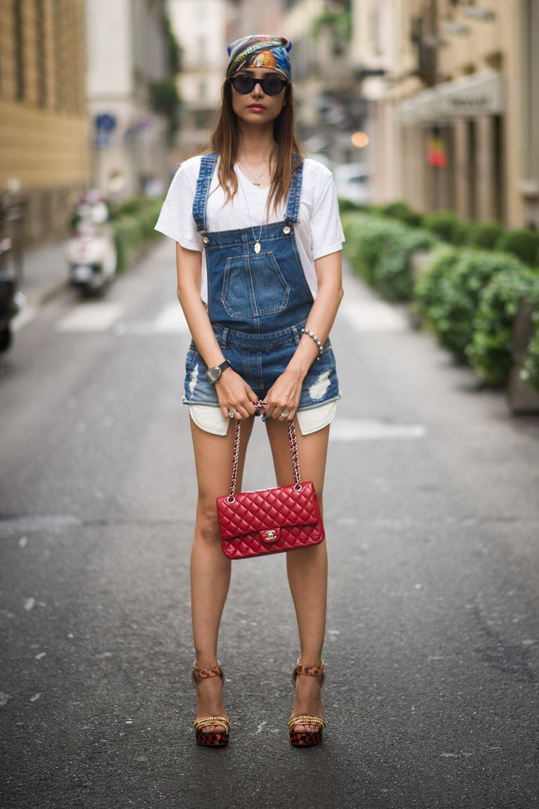 2018 Summer Overalls For Women Best Street Style Looks (21)