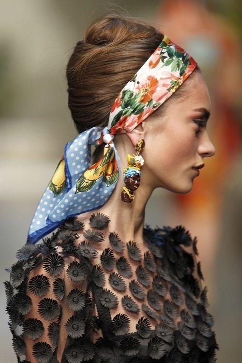 27 Summer Ways Of Wearing Scarves 2021