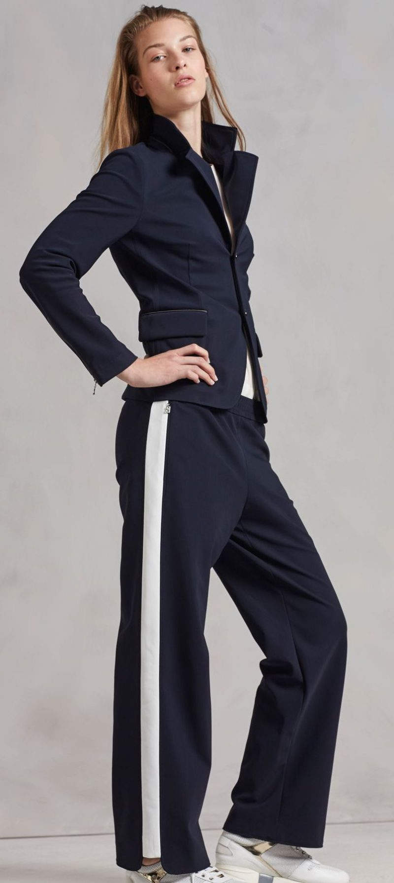 38 Ways To Look Awesome In Side Stripe Pants 2019
