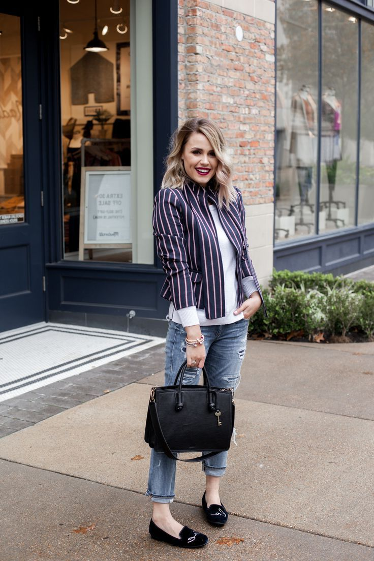 24 Tips To Dress Up Jeans For Women 2019