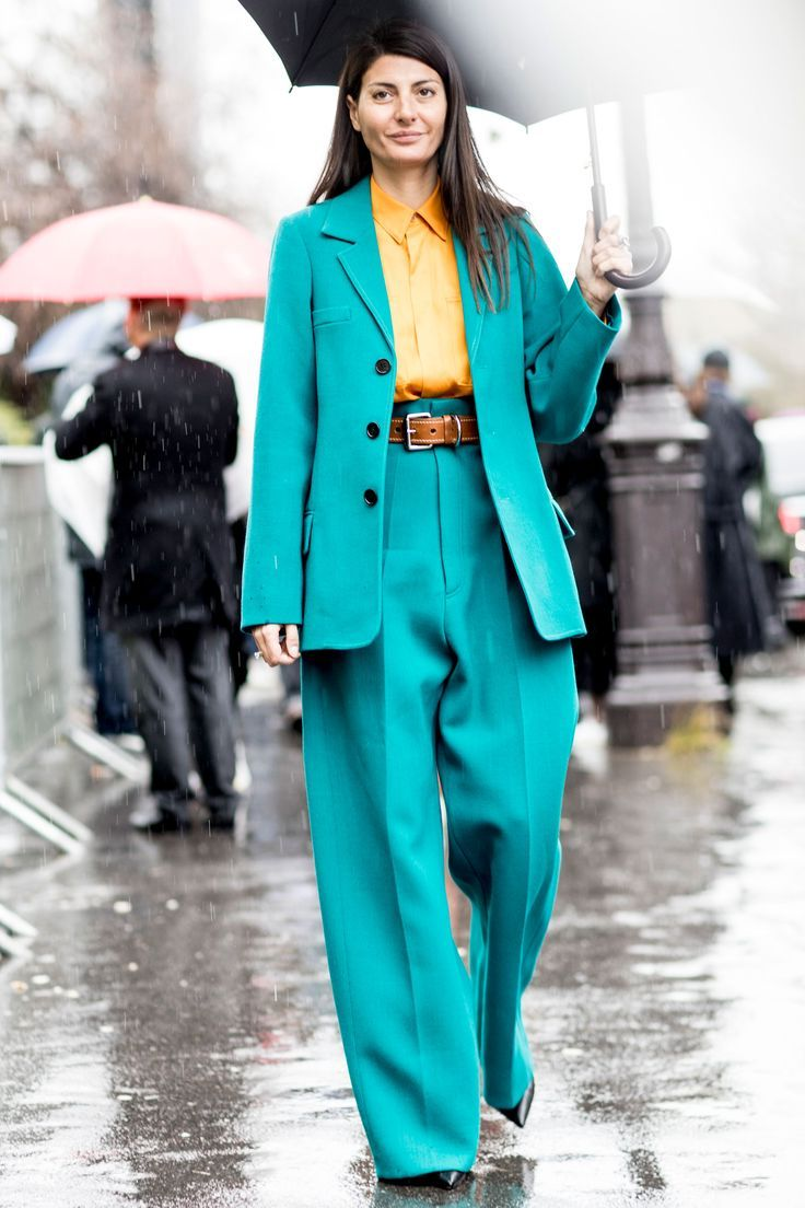 Street Style Suits For Women 2020