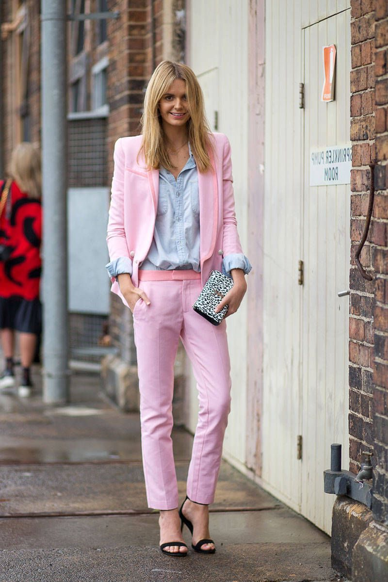 Street Style Suits For Women 2019