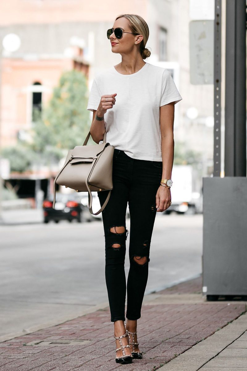 2018 White Outfit Ideas For Women Best Street Style Ideas (10)