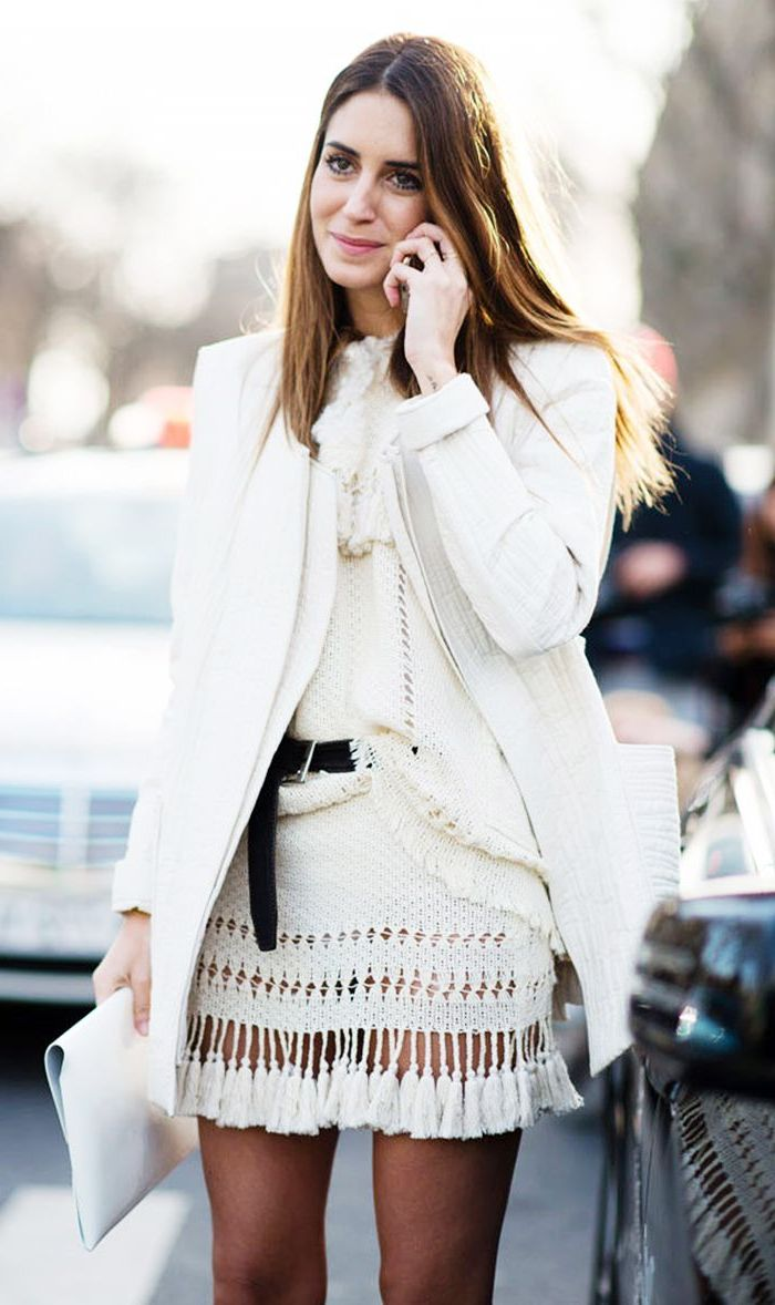 2018 White Outfit Ideas For Women Best Street Style Ideas (26)