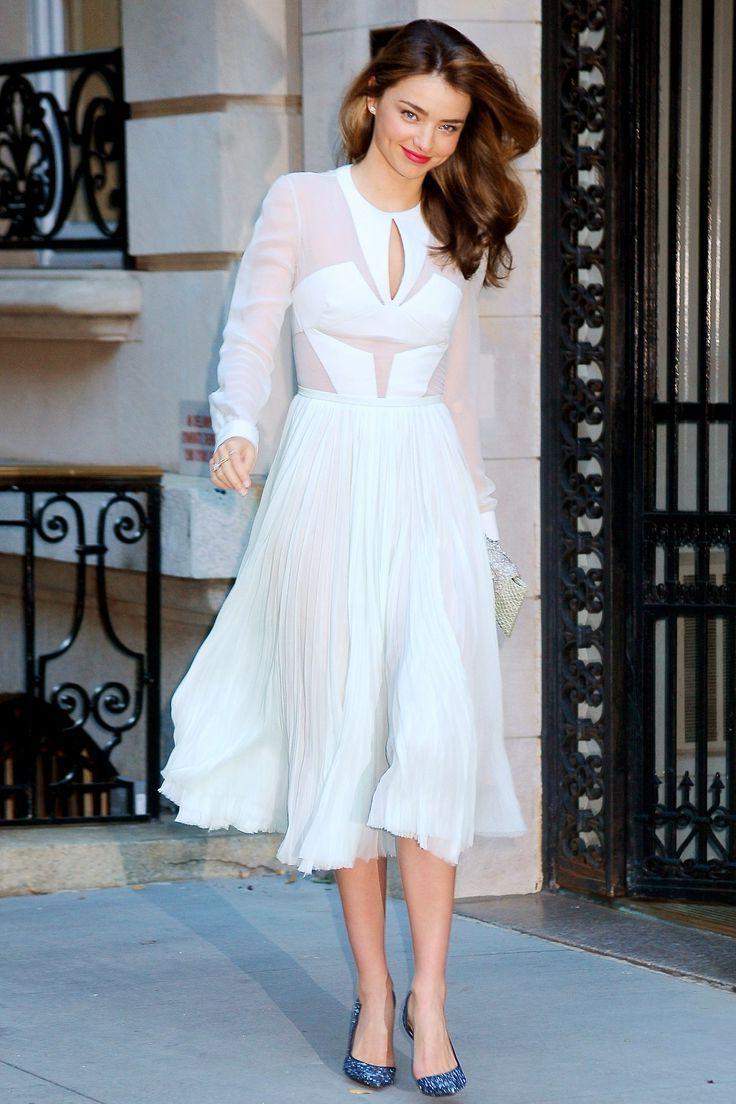 2018 White Outfit Ideas For Women Best Street Style Ideas (34)