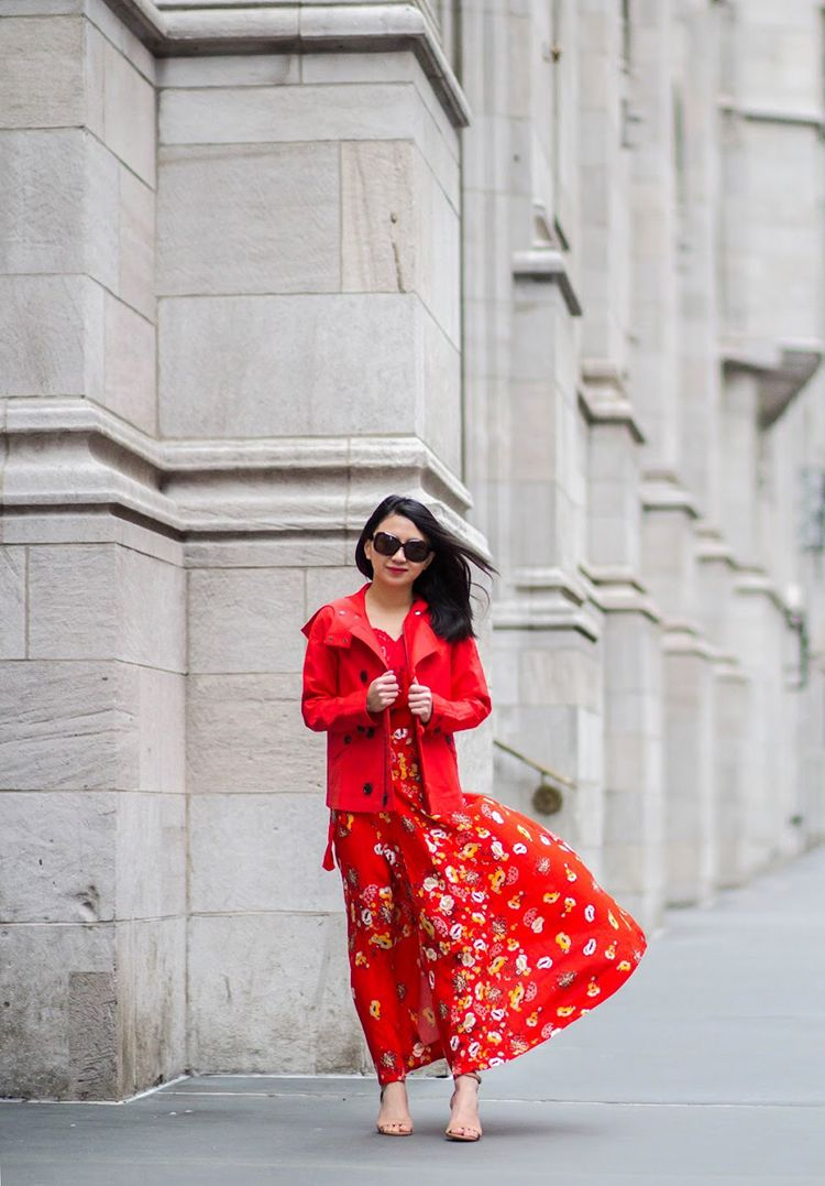 2018 Wrap Dresses For Women Street Style (22)