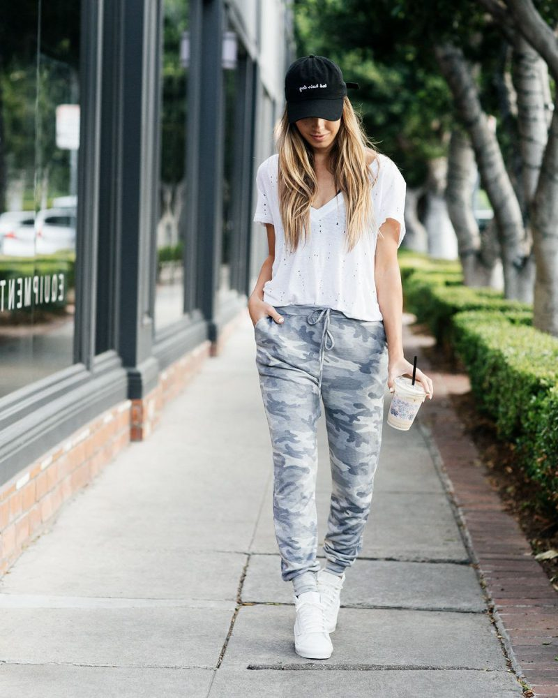 28 Ways How To Make Sweatpants Look Chic 2019