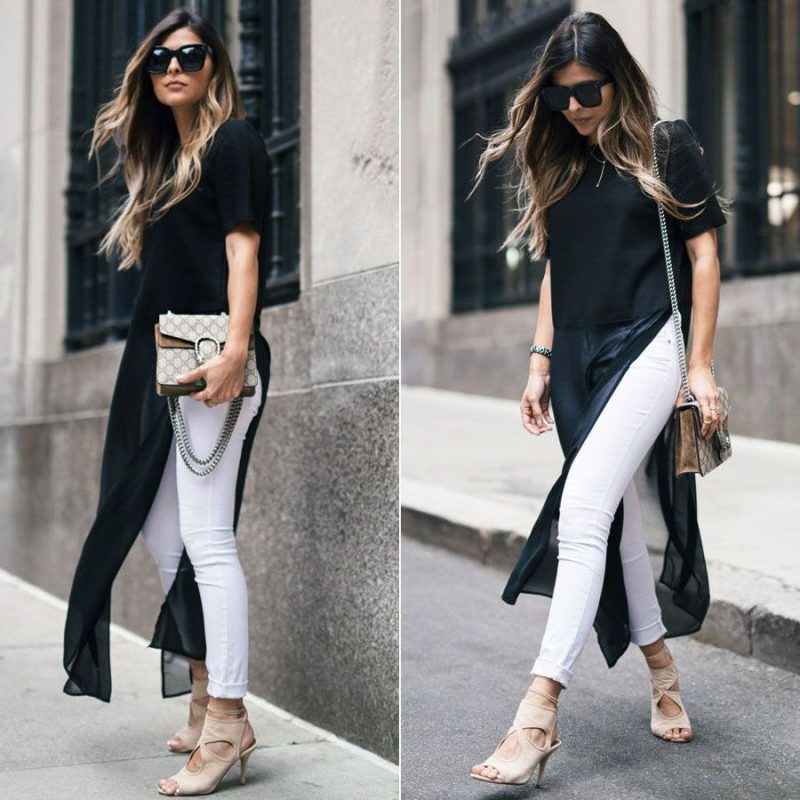 White Jeans 2018 Best Street Style Looks For Women (11)