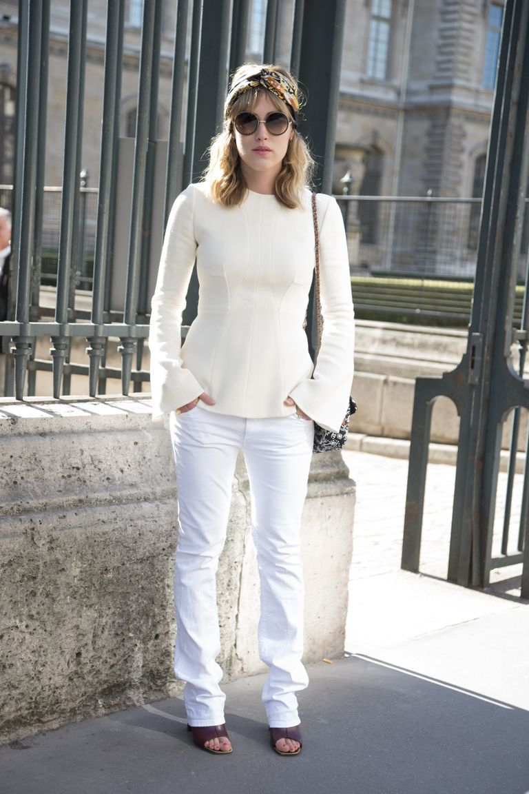 White Jeans 2018 Best Street Style Looks For Women (14)