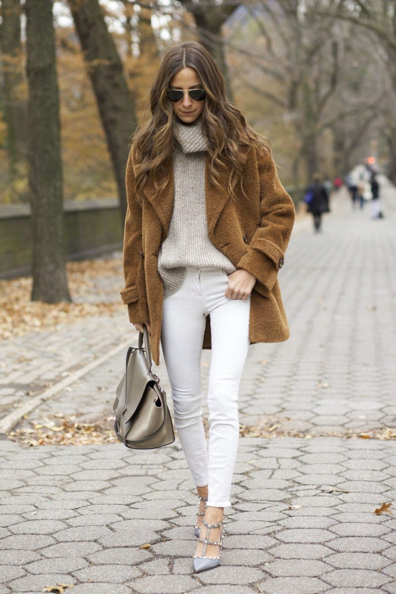 White Jeans 2018 Best Street Style Looks For Women (16)