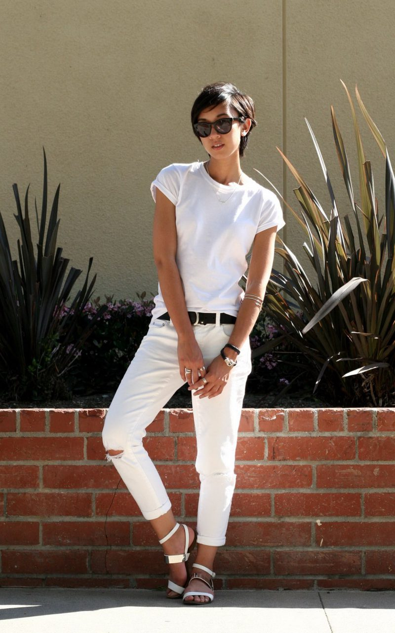 White Jeans 2018 Best Street Style Looks For Women (23)