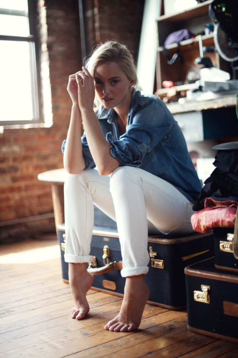 White Jeans 2018 Best Street Style Looks For Women (24)