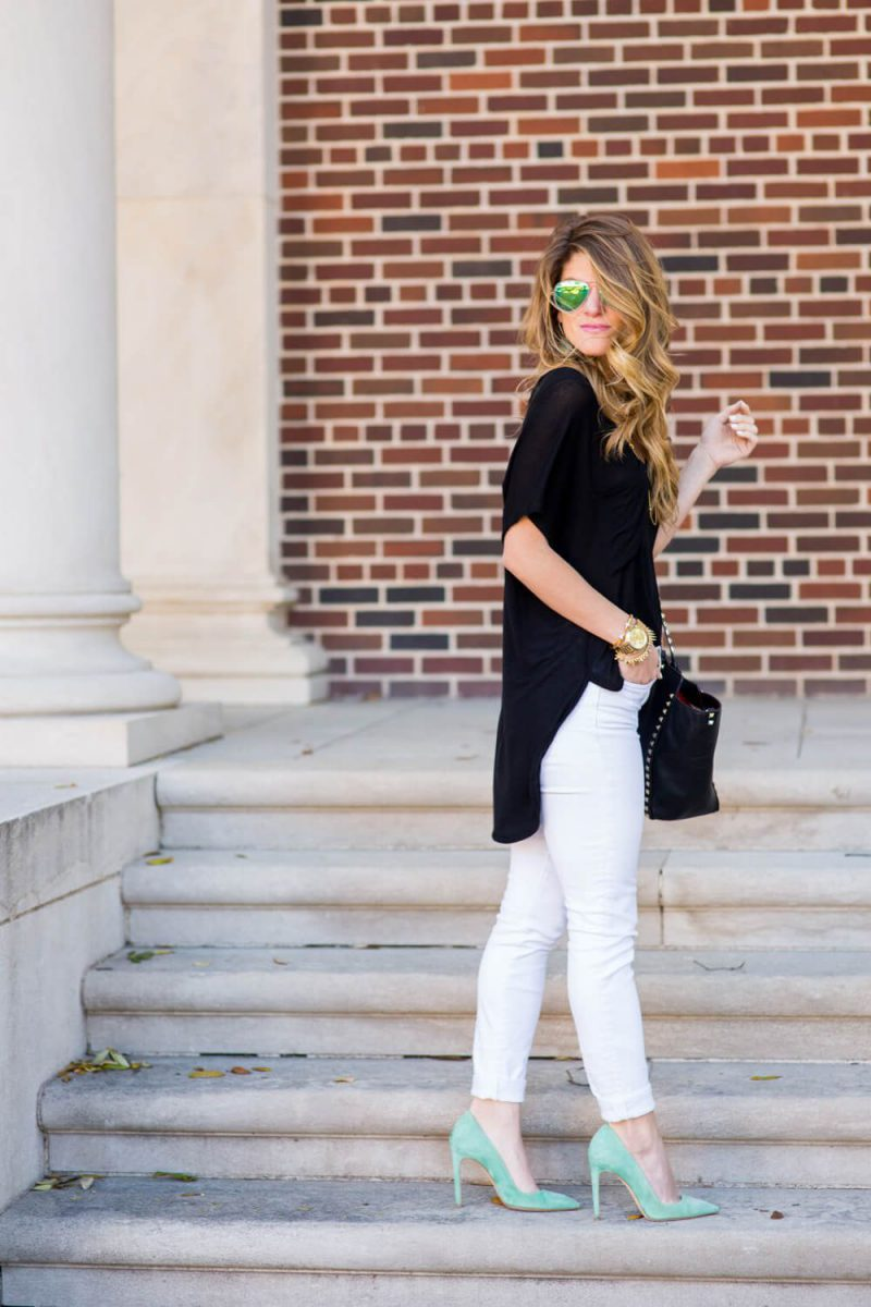 White Jeans 2018 Best Street Style Looks For Women (25)