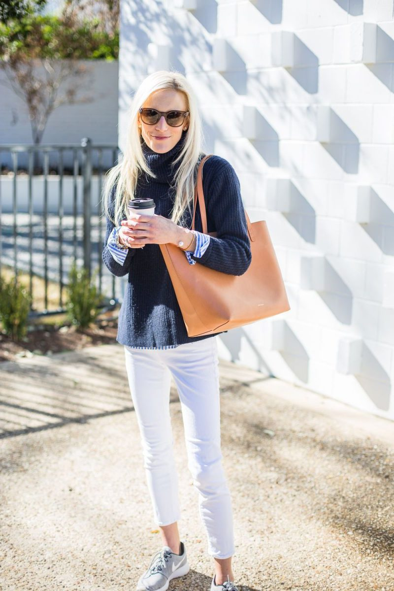 White Jeans 2018 Best Street Style Looks For Women (27)