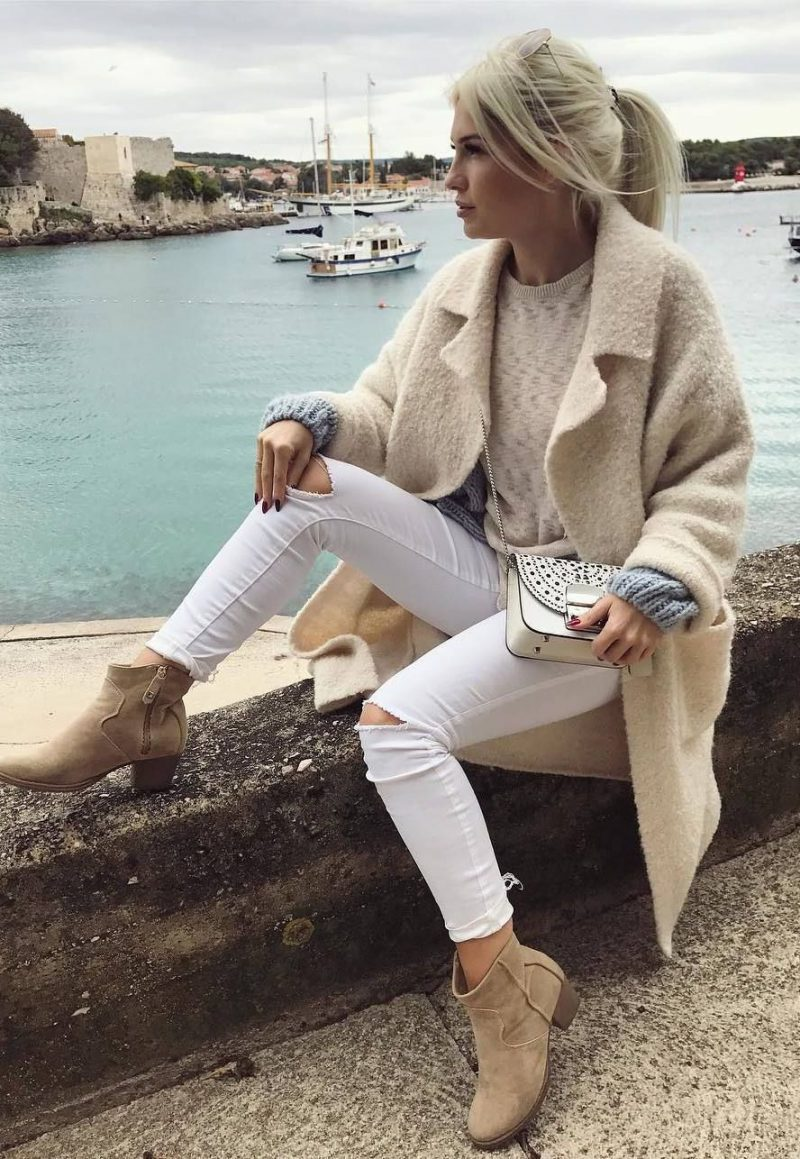 White Jeans 2018 Best Street Style Looks For Women (5)