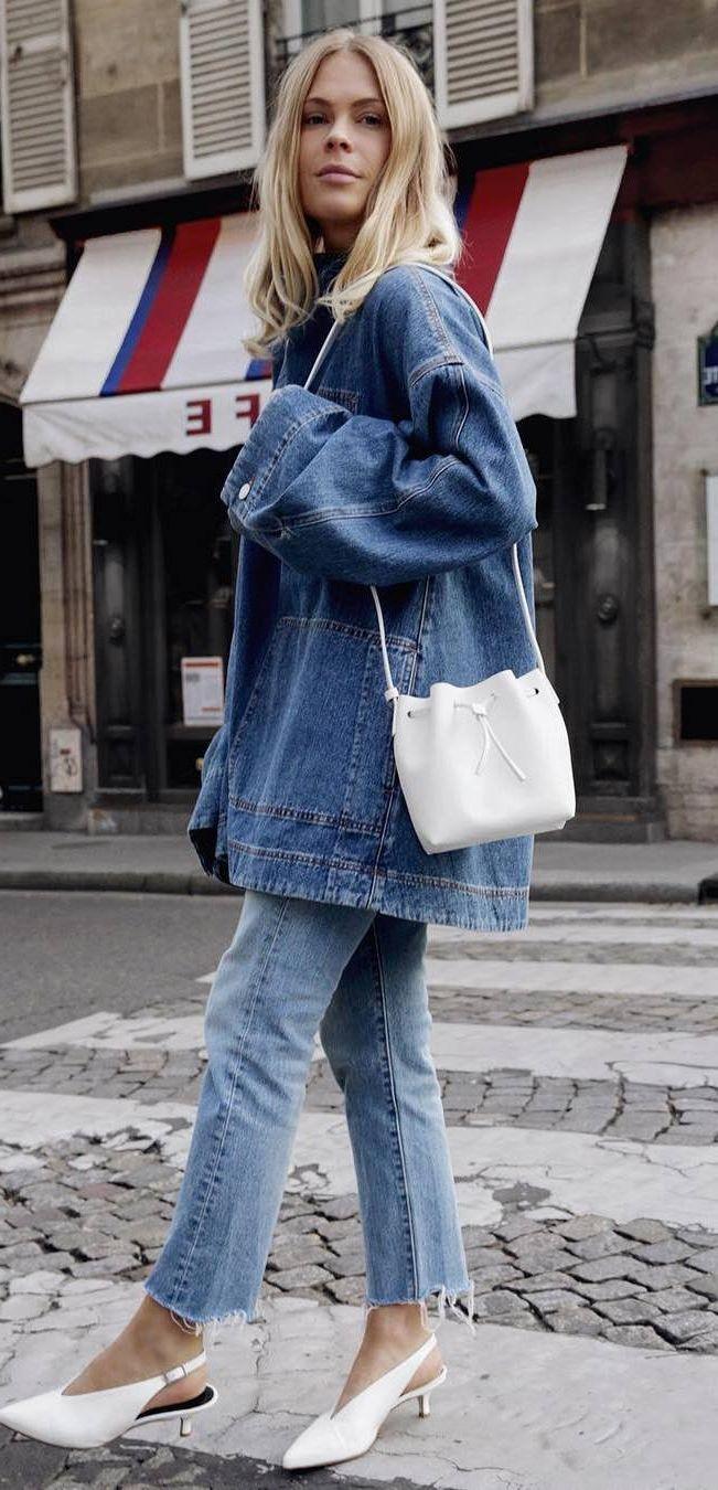Double Denim Fashion Trend 2019