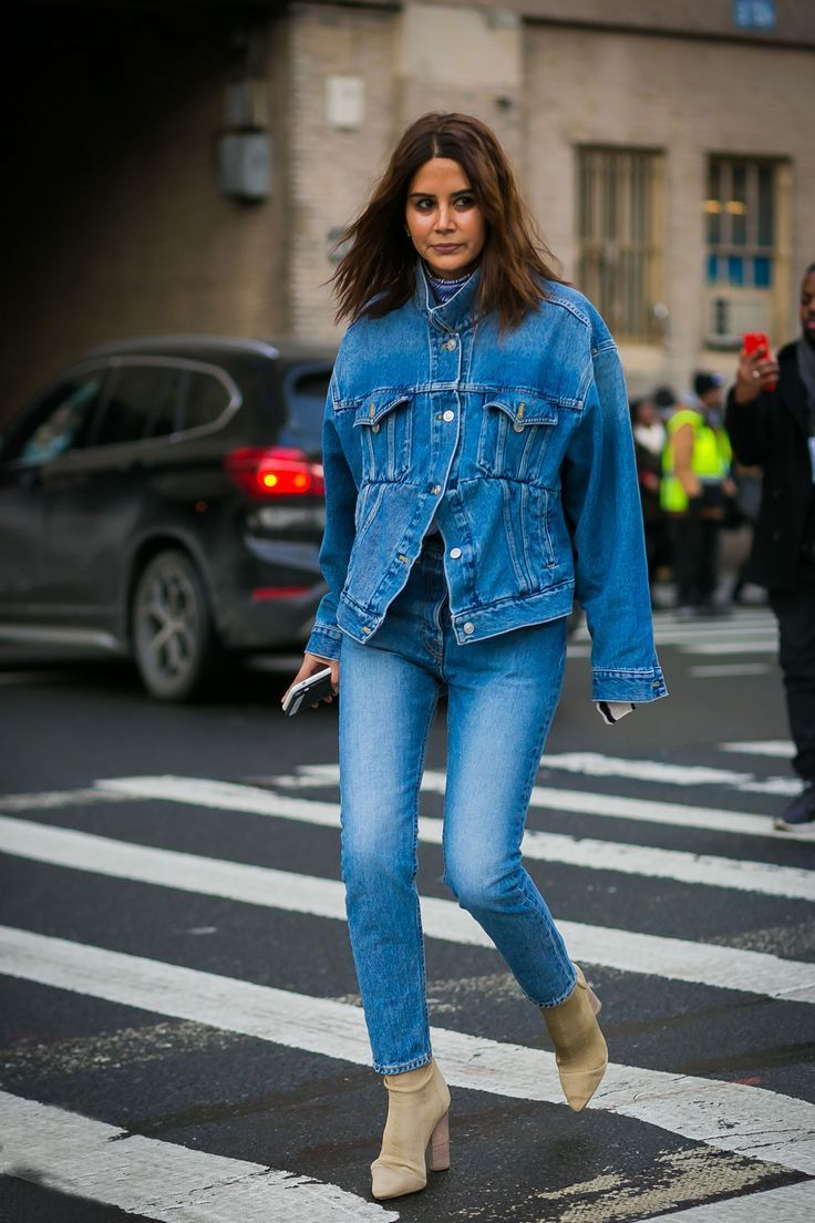 Double Denim Fashion Trend 2019