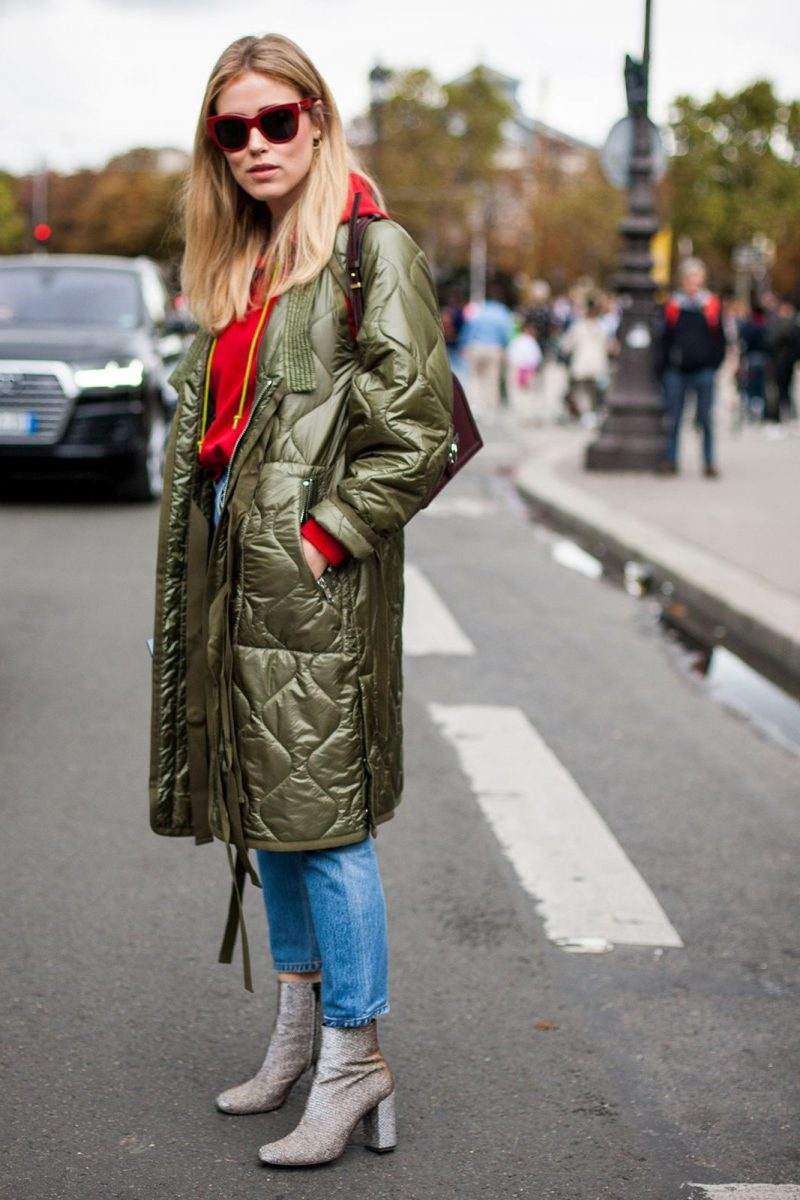 How To Wear Ankle Boots For Women Street Style (13)