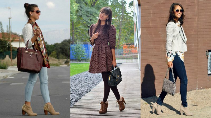 How To Wear Ankle Boots For Women Street Style (16)